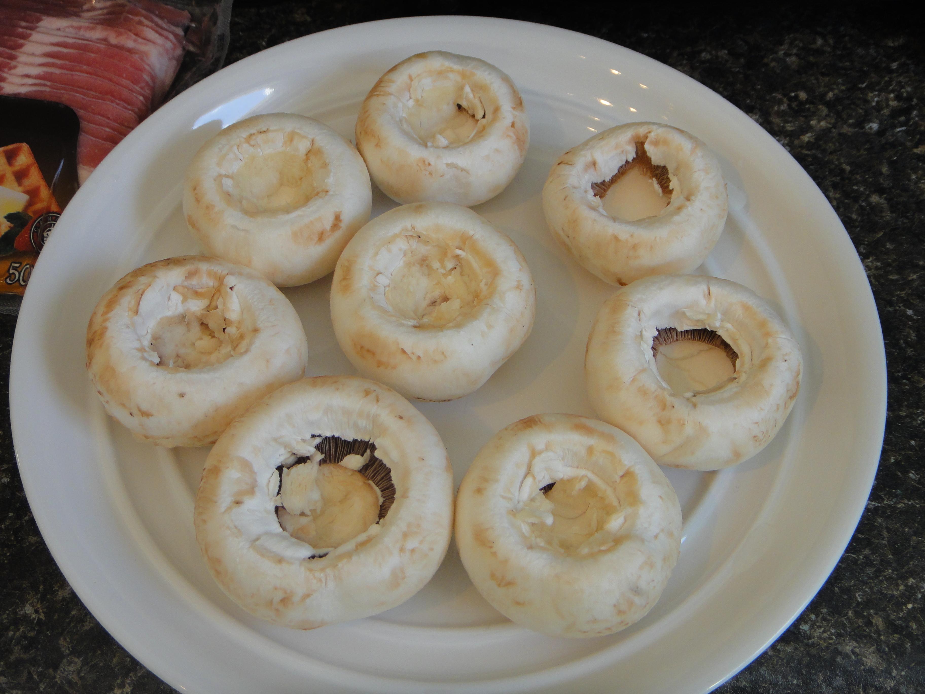 how to make stuffed mushroom caps